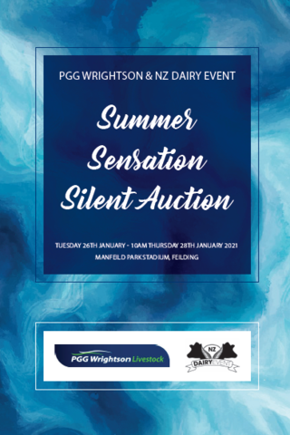 NZ DAIRY EVENT SUMMER SENSATION SILENT AUCTION